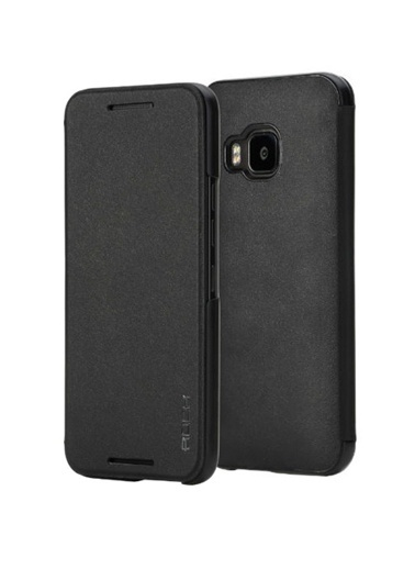 Touch HTC One M9 Smart Side Leather Kılıf -Rock